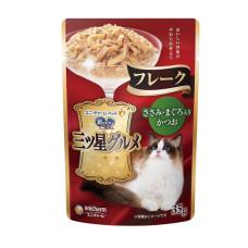 三星美食細嫩口感餐包 35克 【雞肉+鰹魚+鮪魚】(6入)(貓副食餐包)