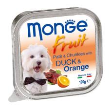 倍愛滿滿蔬果主食犬餐盒 100克【鴨肉+橘子】(32入)(狗主食餐盒)