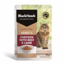 優選無穀餐包85克【雞肉+牛肉+羊肉(成貓)】(6入)(貓主食餐包)