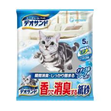 消臭紙砂 5L 沐浴香(6入)