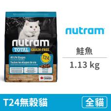 T24無穀貓 鮭魚 1.13公斤 (貓飼料)