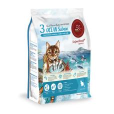 貓糧 3號 海洋魚貝 2公斤(貓飼料)