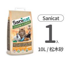 Sanicat Wood 天然環保松木砂(崩解型木屑砂) 10L