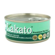 卡格餐食罐170克【鮪魚、起司】(24入)(貓狗副食罐頭)(整箱罐罐)