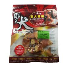 手作燕麥餅乾雞胸捲8入(臘腸造型)(狗零食)