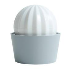 仙人球洗澡按摩梳 白色(8.5*10公分)