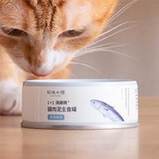 1+1滴雞精肉泥主食罐80克【肥美鯖魚】(1入) (貓主食罐頭)