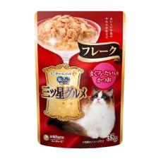 三星美食細嫩口感餐包35克【鯛魚+鰹魚+鮪魚】(6入)(貓副食餐包)
