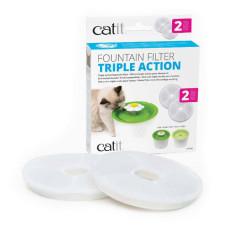 CATIT2.0飲水機濾心(活性碳+軟水劑) (2入1盒)(濾芯濾心濾棉)