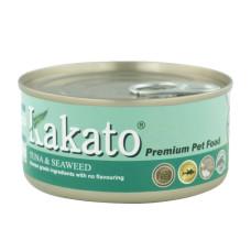 卡格餐食罐170克【鮪魚、紫菜】(24入)(貓狗副食罐頭)(整箱罐罐)
