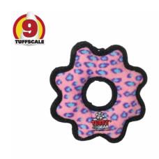 耐咬齒輪 粉紅色(小)(20*20*3公分)(狗玩具)