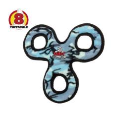 耐咬三圈飛盤 迷彩藍(28*28*4公分)(狗玩具)