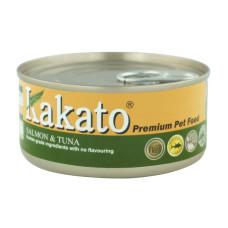 卡格餐食罐170克【鮭魚、鮪魚】(24入)(貓狗副食罐頭)(整箱罐罐)