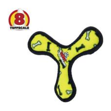 耐咬三角飛盤 黃色(20*20*3公分)(狗玩具)
