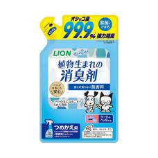 LION一瓶搞定!臭臭除瞬間消臭(綠茶香)補充包320ml