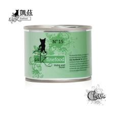 貓用無穀主食罐200克 經典美食家系列【No.15雞+雉雞】(1入)(貓主食罐)