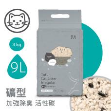 礦型凝結豆腐砂 9L 活性碳(1入)