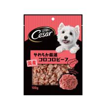 主廚嚴選香軟牛肉切塊口味 100克 (狗零食)