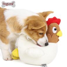 母雞生蛋嗅聞解悶神器狗玩具(24x23x25公分)(狗玩具)