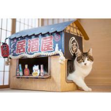 喵吾郎日式居酒屋貓屋(53*7*59公分)(貓抓板)