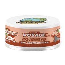 世界風貓咪主食罐80克【義式奶油鮭魚】(24入)(貓主食罐頭)(整箱罐罐)