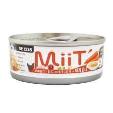 MIIT80克【鮮嫩雞丁胡蘿蔔湯佐蕃茄四季豆起司】(24入)(狗副食罐頭)(整箱罐罐)