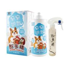 酚多精 寵物環境/用品天然除臭液(原味) 1000ml+150ml
