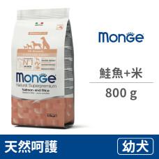 天然呵護 幼犬配方(鮭魚+米) 800克 (狗飼料)