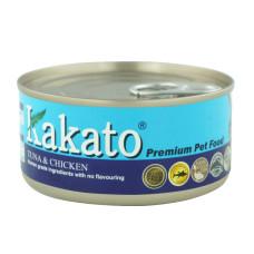 卡格餐食罐170克【鮪魚、雞】(24入)(貓狗副食罐頭)(整箱罐罐)