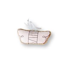 可愛貓薄荷包 蝴蝶 (10*4*2公分)(貓玩具)