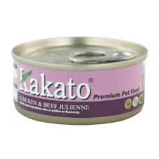卡格餐食罐170克【雞、牛肉絲】(24入)(貓狗副食罐頭)(整箱罐罐)