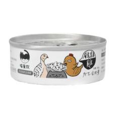 95%含肉量主食罐80克【雞肉+鵪鶉】(1入)(貓主食罐頭)