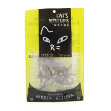 (即期)貓咪下酒菜 銀帶鯡魚+干貝15克(貓零食) (效期2021.10.16)