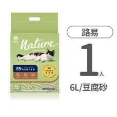 88%高纖豆腐砂 綠茶 6L(1入)