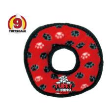 耐咬圈圈玩具 紅色(小)(18x18x3公分)(狗玩具)
