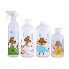 狗用【全面防味】除臭噴霧+地板清潔劑+布類洗潔液+食器洗滌劑