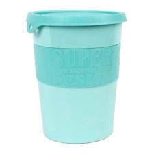 SuperBowl 矽膠蓋防滑邊儲糧桶 粉綠