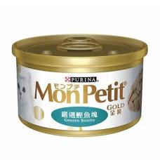 金罐 85克【鮮燴鰹魚大餐】(24入)(貓副食罐頭)(整箱罐罐)