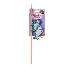 魔方雙魚逗貓棒(34x8x3公分)(貓玩具)