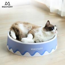 貓抓盆奶油款(大號)(42*11.5*41.5公分)(貓抓板)