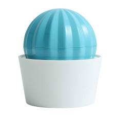 仙人球洗澡按摩梳 藍綠色(8.5*10公分)