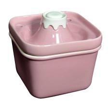 陶瓷富士山寵物飲水機850ml 粉