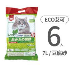 豆腐貓砂 綠茶7L (6入)