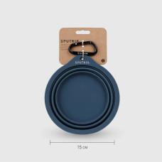 Explore︱寵物摺疊碗 藍