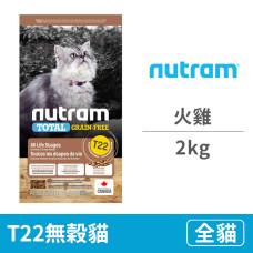 T22無穀貓 火雞2公斤(貓飼料)