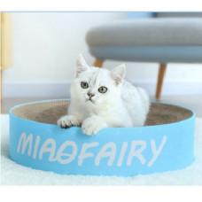 貓抓盆冰藍款(大號)(42*11.5*41.5公分)(貓抓板)