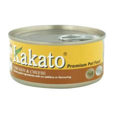 卡格餐食罐170克【雞、起司】(24入)(貓狗副食罐頭)(整箱罐罐)