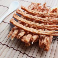 100%新鮮食材手作寵物鮮食零食 起士雞肉條 100 克 (貓狗零食)