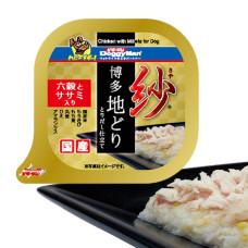紗餐盒-日本博多放牧雞 六種穀物 100克 雞胸肉(1入) (狗副食罐頭)