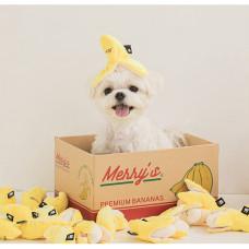 藏食玩具 瑪力蕉蕉(5*10公分)(狗玩具)